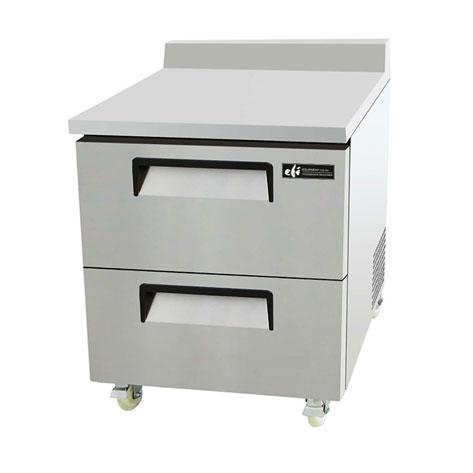Worktop Refrigerators with Drawers