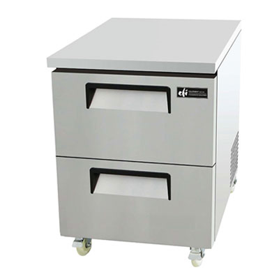 Undercounter Freezers with Drawers