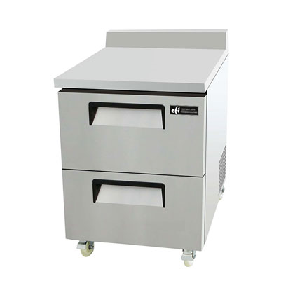 Worktop Freezers with Drawers