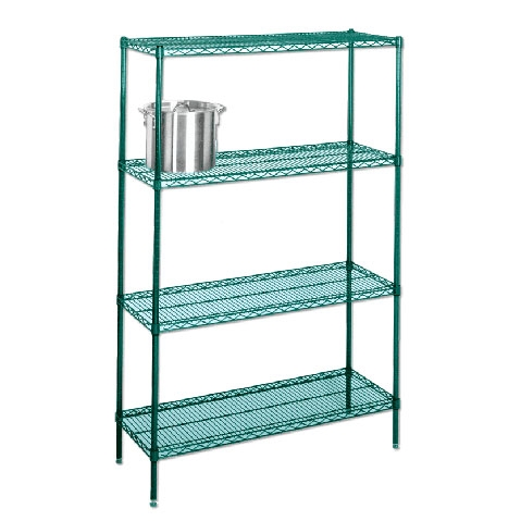 Epoxy Coated Wire Shelving