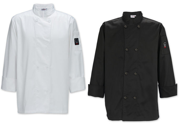 Men's Tapered Fit Chef Jackets
